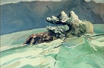 Gopher Hole Medusa #7, 1973