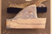 Bird and Shark on Aluminum, 1983