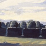 The Day Advances (Topiary Series), 1990
