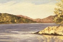 Hudson Sketch Early Fall, 1991